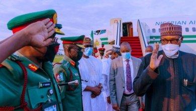 Buhari Back in Abuja