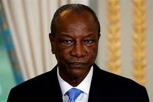 Ex-President Alpha Conde