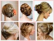 wedding reception cocktail hairstyles