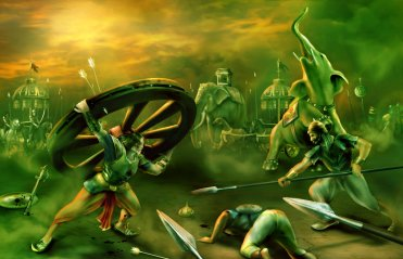 war_of_ran_bhumi__krishna__by_theartist100-d6l0ug9