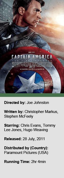 Captain America The First Avenger P