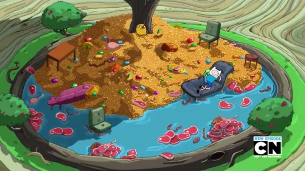 Adventure Time Review: Season 6 Episode 8 (Furniture & Meat) (2/3)