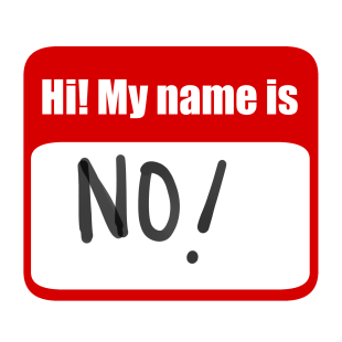 My name is no