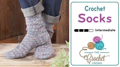 How to Crochet Socks for Beginners + Tutorial
