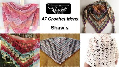 47 Crochet Prayer Shawls + Some Tutorials