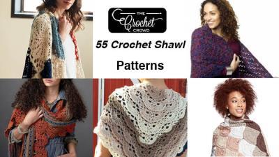 55 Crochet Shawl Patterns