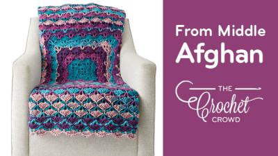 Crochet From the Middle Afghan + Tutorial