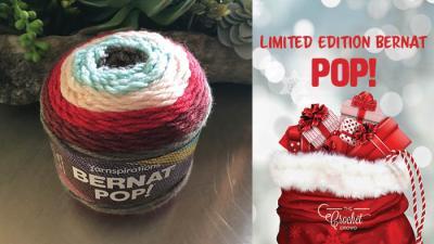 Limited Edition Bernat POP! Christmas Yarn