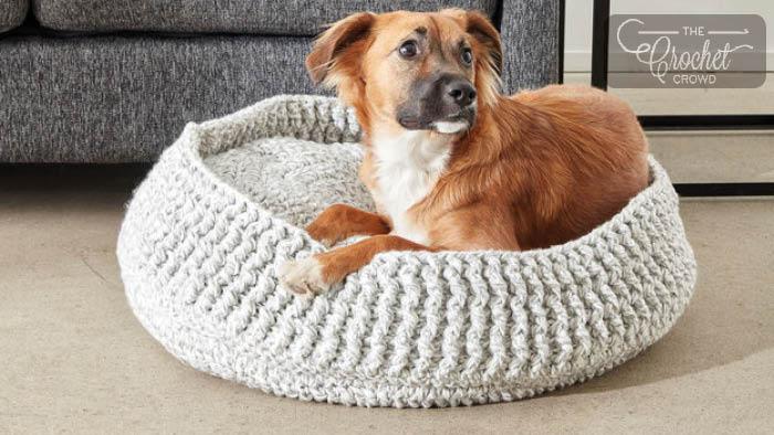 """Résultat de recherche d'images pour """"crochet pet bed"""""""