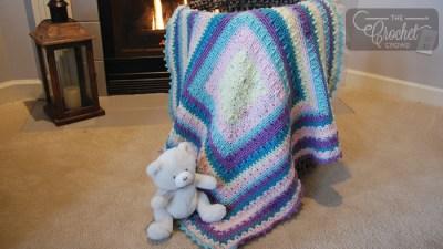 Crochet Social Textures Baby Blanket