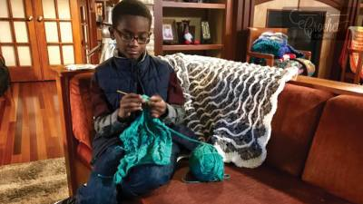 Jonah Larsen Partners with Yarnspirations