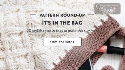 20 Crochet & Knit Bags + Tutorials