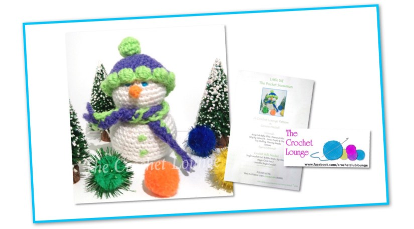 Snowman Crochet Lounge Pattern