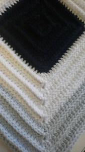Amalfie Coast Blanket - Black Jack
