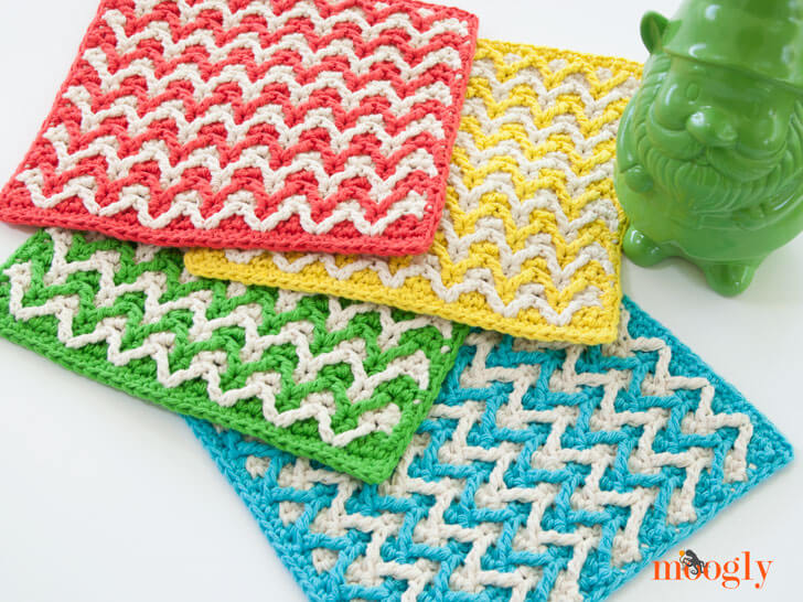 Kitchen Knitted Dishcloths Patterns