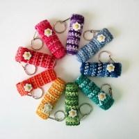 Crochet Lip Balm Holder [FREE Crochet Pattern]