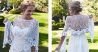 Flowery Bridal Crochet Shawl [FREE Crochet Pattern]