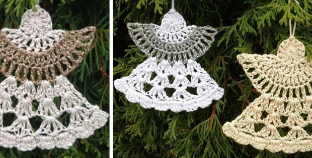 crocheted guardian angels free