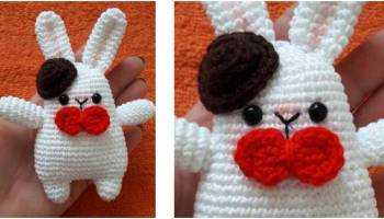 Amigurumi Crocheted Butterfly Doll - Free Pattern - DIY 4 EVER   200x350