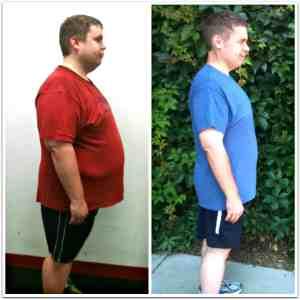 JC Cross, fitness specialist helps Alex Boyd lose weight