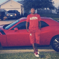 Alabama Football Players Are Driving Really Really Nice Cars Nowadays