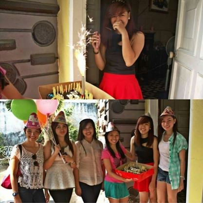 March 9, Steph's 19th birthday! Despite the fail surprise, we still made her happy on her day!