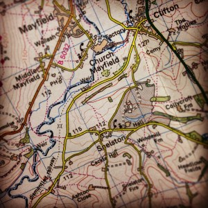 Map: Ordnance Survey 1:50,000, Landranger, Map 118 Derby & Burton upon Trent