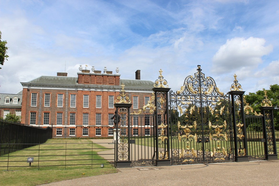 Kensington Palace was where Queen Victoria and Queen Mary were born and raised. © Victoria Howard 2014