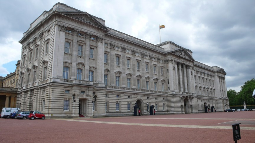 Road closures are being enhanced at  Buckingham Palace in response to the attack in Berlin (Tom Bennett)
