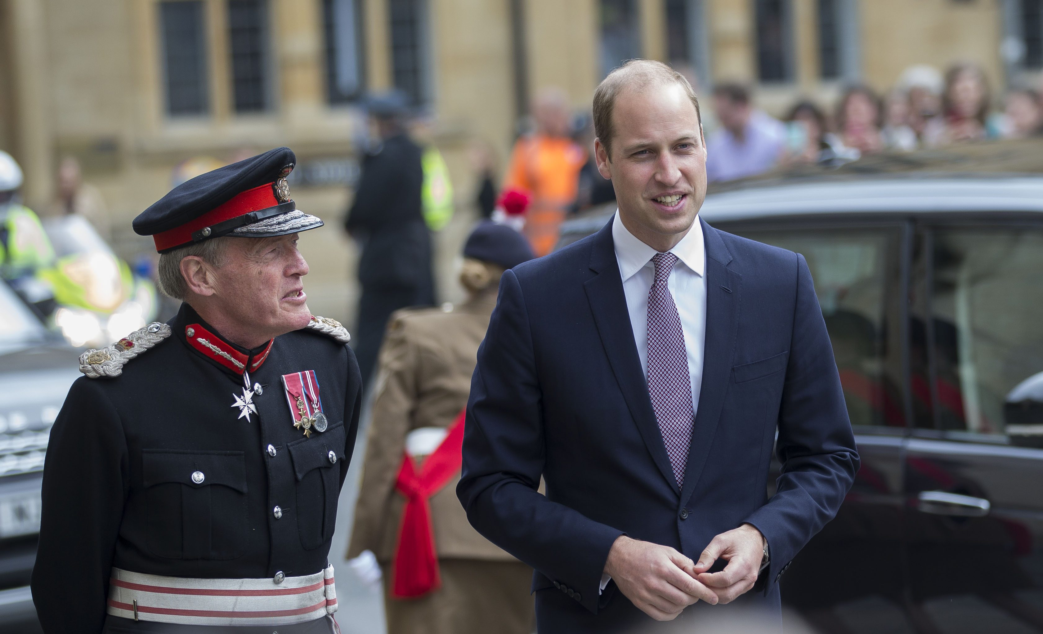 Queen Elizabeth Gives Prince William A New Role