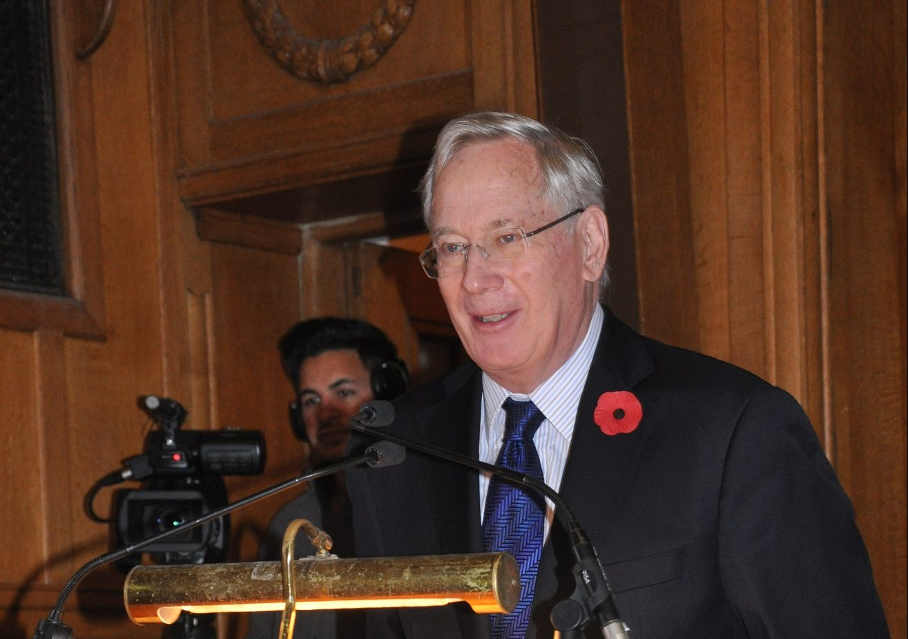 The Duke of Gloucester attends railway workers' WWI centenary service