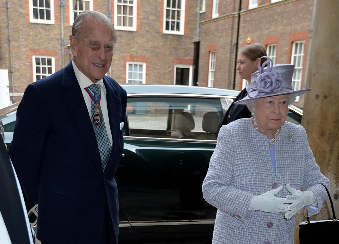 The Duke of Edinburgh has released a rare statement thanking those working on beating coronavirus; Prince Philip is at Windsor Castle with The Queen. Picture by i-Images/ Pool