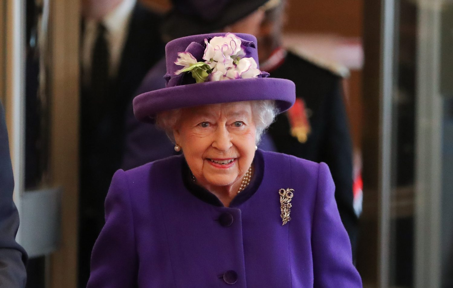 The Queen visited the International Maritime Organisation in London  to mark the 70th anniversary of its formation. Picture by ROTA / i-Images