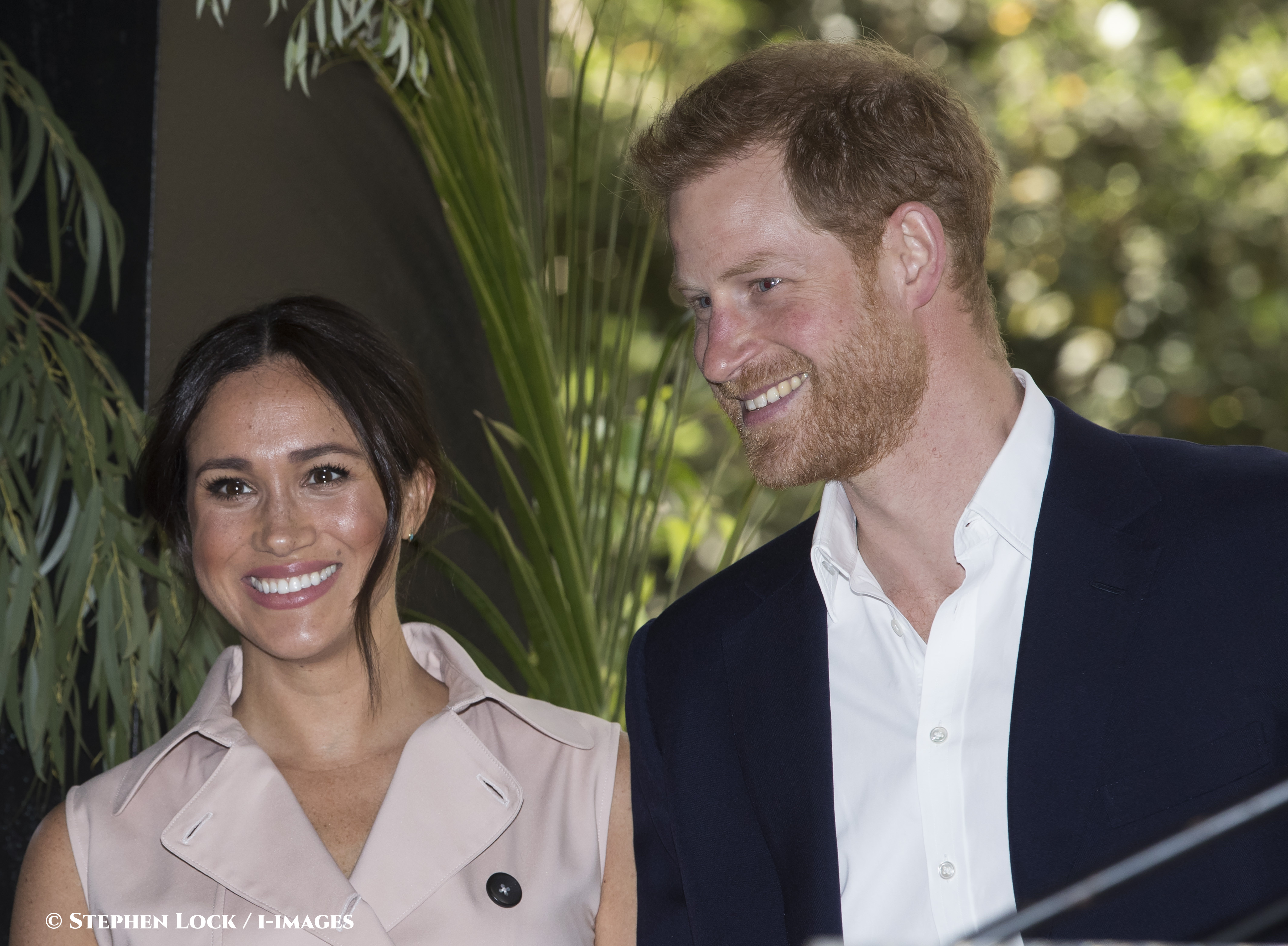 Prince Harry and Meghan want to become financially independent. Stephen Lock  i-Images