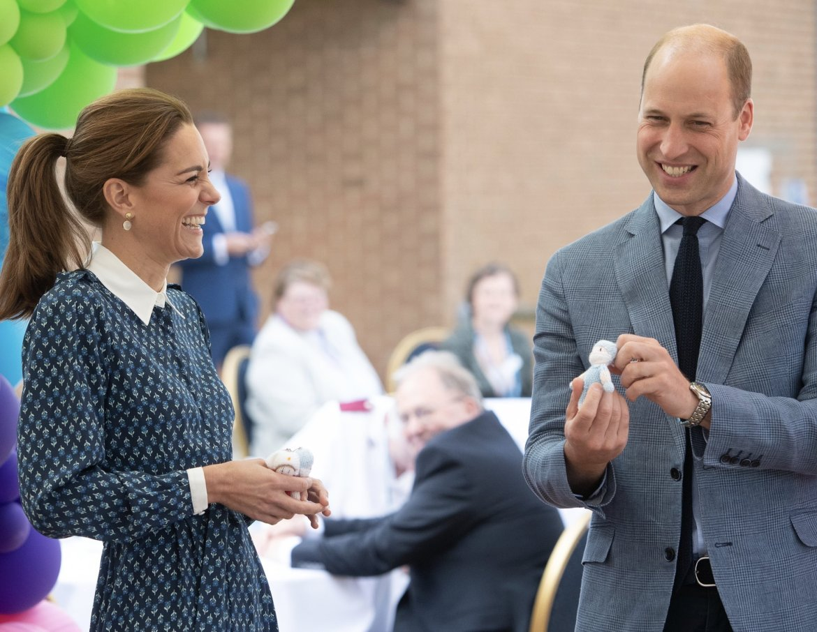 Duke and Duchess of Cambridge celebrate NHS birthday at tea party ...