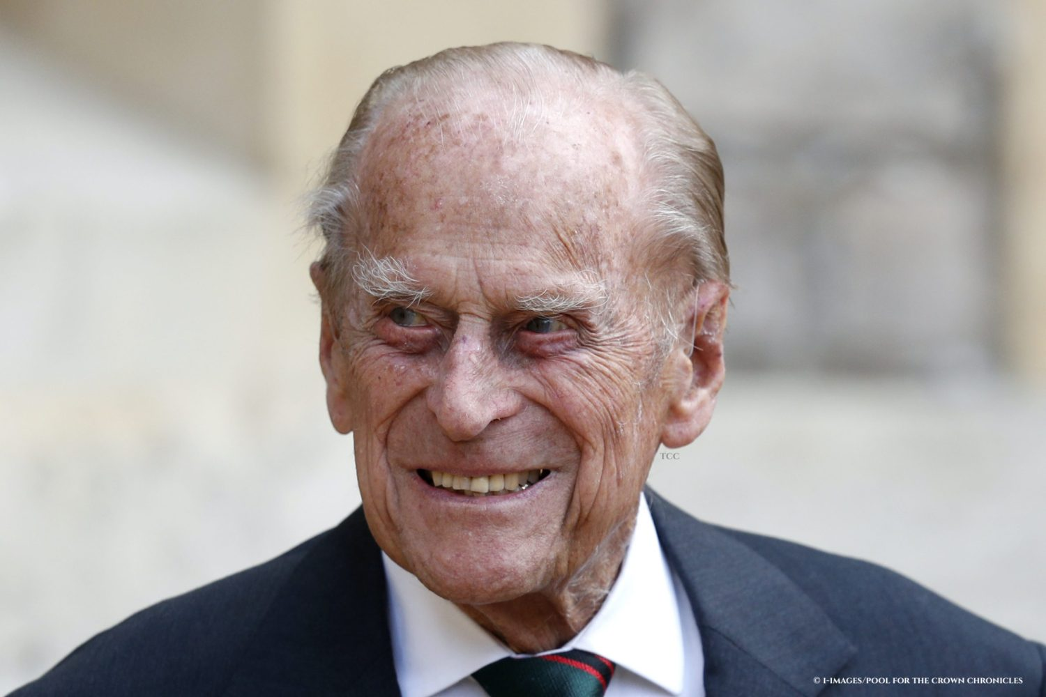 Prince Philip takes part in the transfer of the Colonel-in-Chief of The Rifles ceremony at Windsor Castle. Camilla, The Duchess of Cornwall will become the new Colonel-in-Chief. Picture by  i-Images / Pool