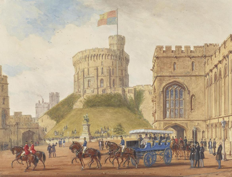 windsor castle watercolour