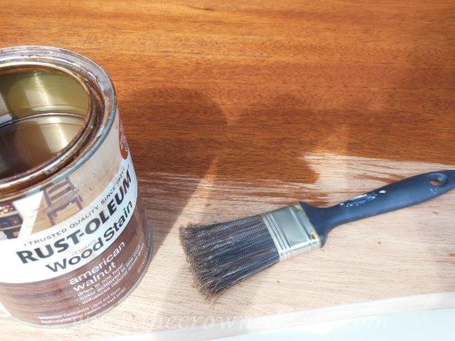 062514-6 Old Ochre Dresser Makeover Painted Furniture