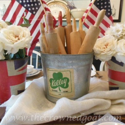 Patriotic Inspiration: Tablescapes
