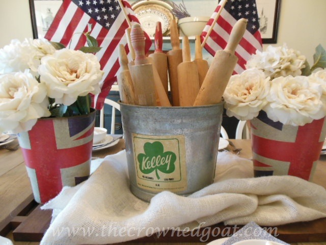 063014-2 Patriotic Inspiration: Tablescapes Decorating Holidays