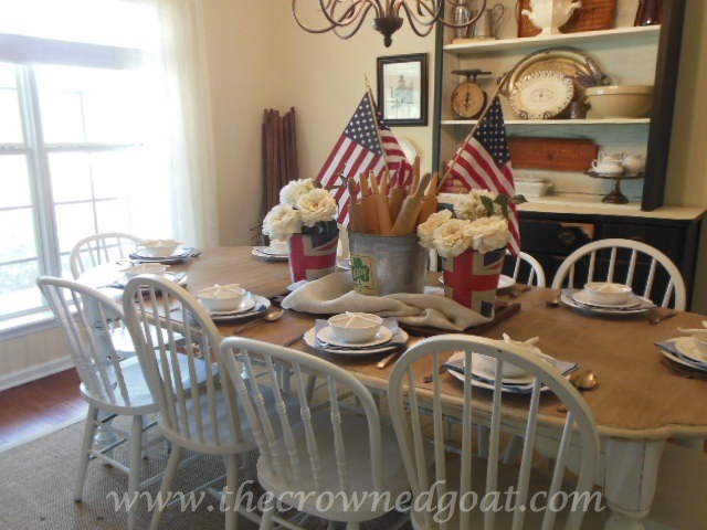 063014-4 Patriotic Inspiration: Tablescapes Decorating Holidays