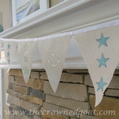 Patriotic Inspiration: Coastal Bunting