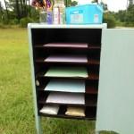 Vintage Record Cabinet Makeover