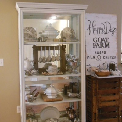 One Project Leads to Another…Styling a China Cabinet