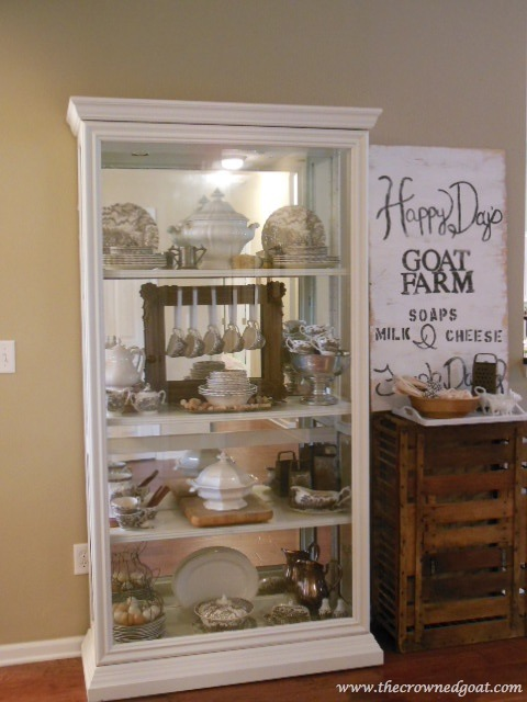 041814-14 One Project Leads to Another…Styling a China Cabinet Decorating