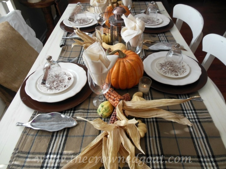 110514-5-Thanksgiving-Inspired-Table Thanksgiving Table Inspiration Decorating Holidays