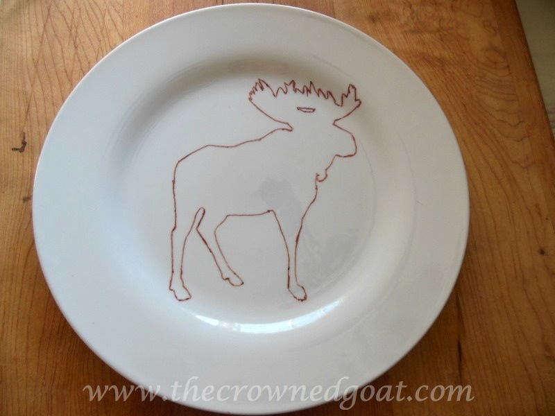 010715-5 Creating Moose Plates with Sharpie Markers Crafts