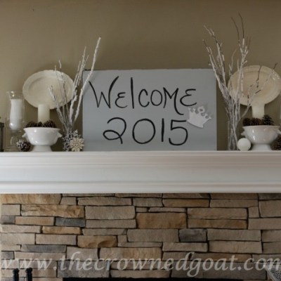 How to Transition Christmas Décor into Winter Décor