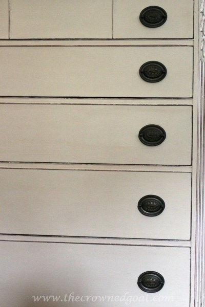 ASCP Country Grey Dresser Makeover