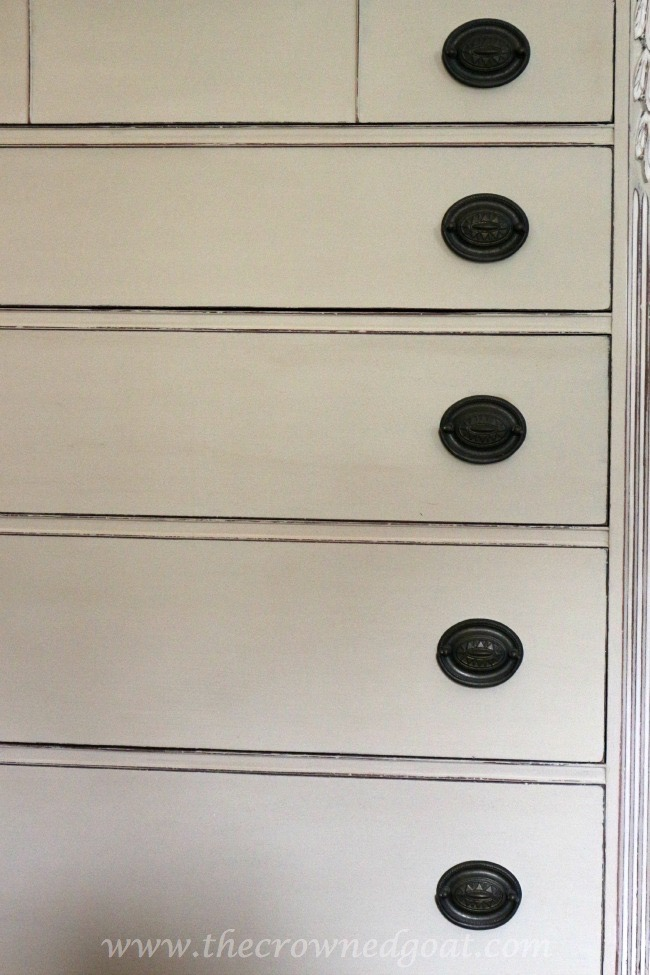 012115-14 ASCP Country Grey Dresser Makeover Painted Furniture